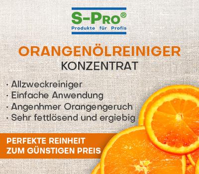 S-Pro® Orangenölreiniger-Konzentrat inkl. Mikrofasertuch