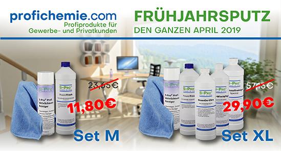Profichemie.com S-Pro® Frühjahrsputz-Set