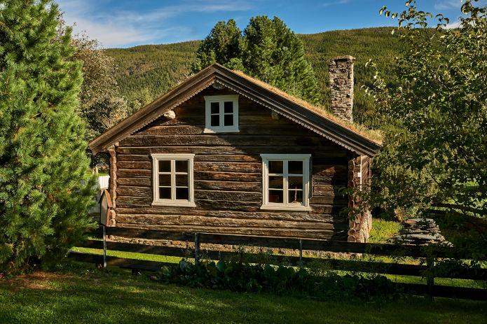 Holz Hütte