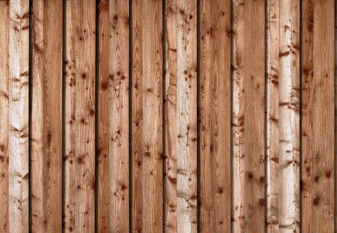 Sauberes Holz