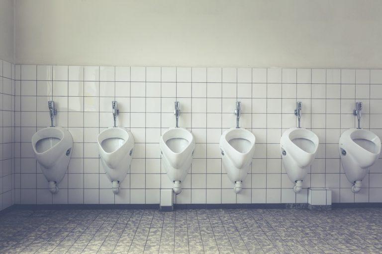 Toiletten ohne Uringeruch