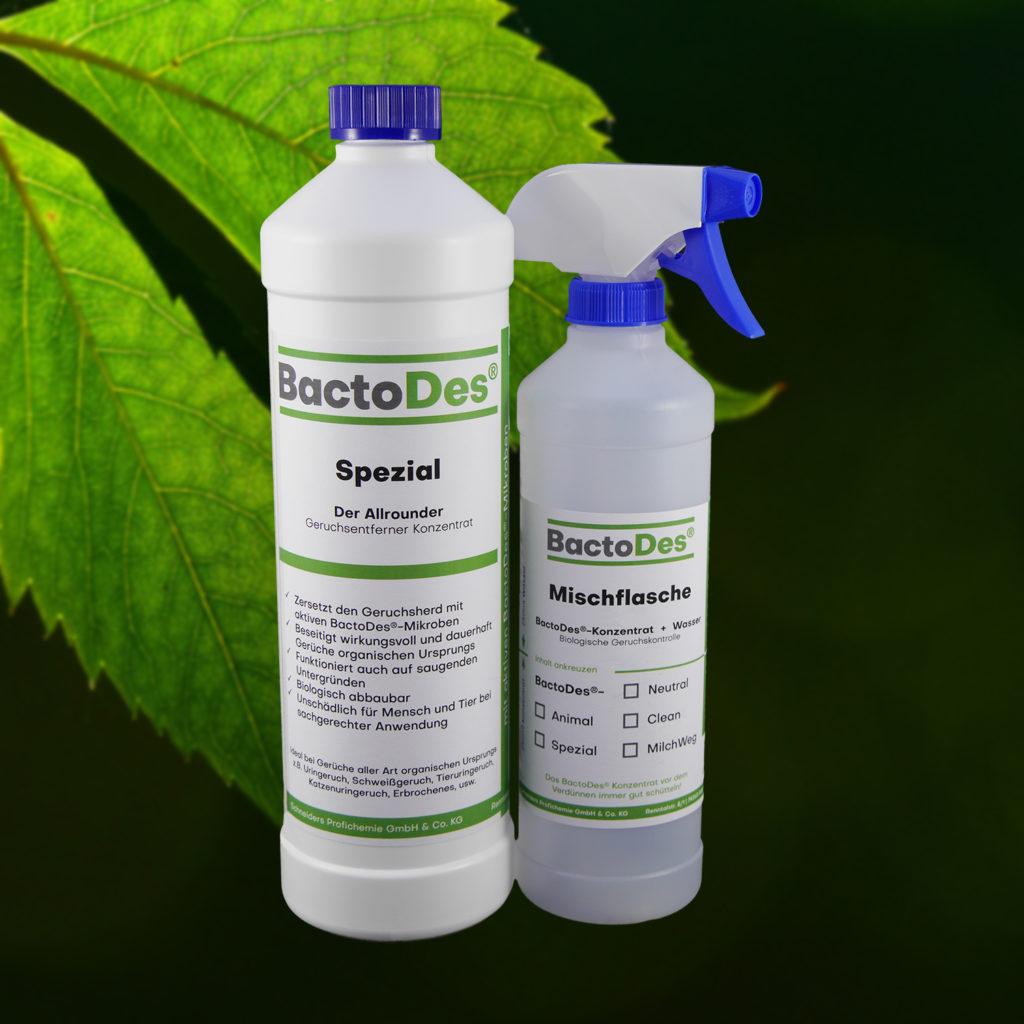 Gerüche entfernen BactoDes Spezial