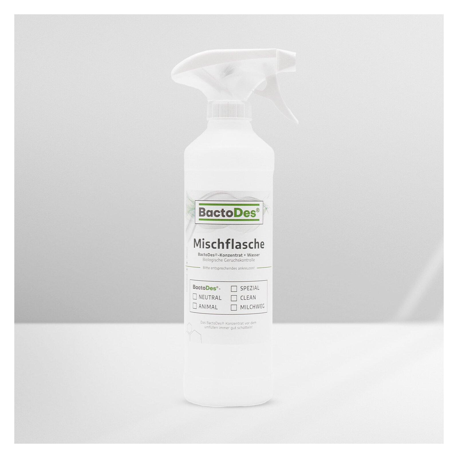 Sprüh- Und Mischflasche Leer Bactodes-standard 500ml