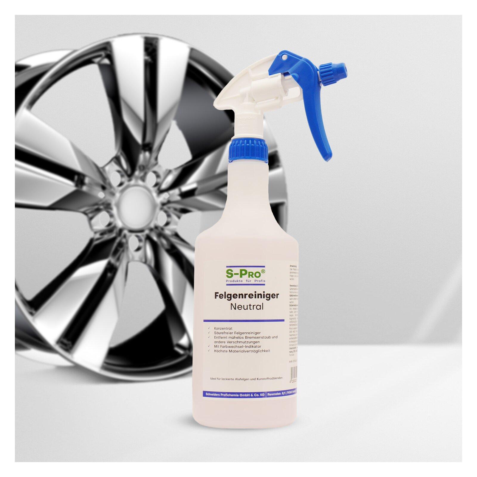 S-pro Felgenreiniger-neutral 750ml Flasche