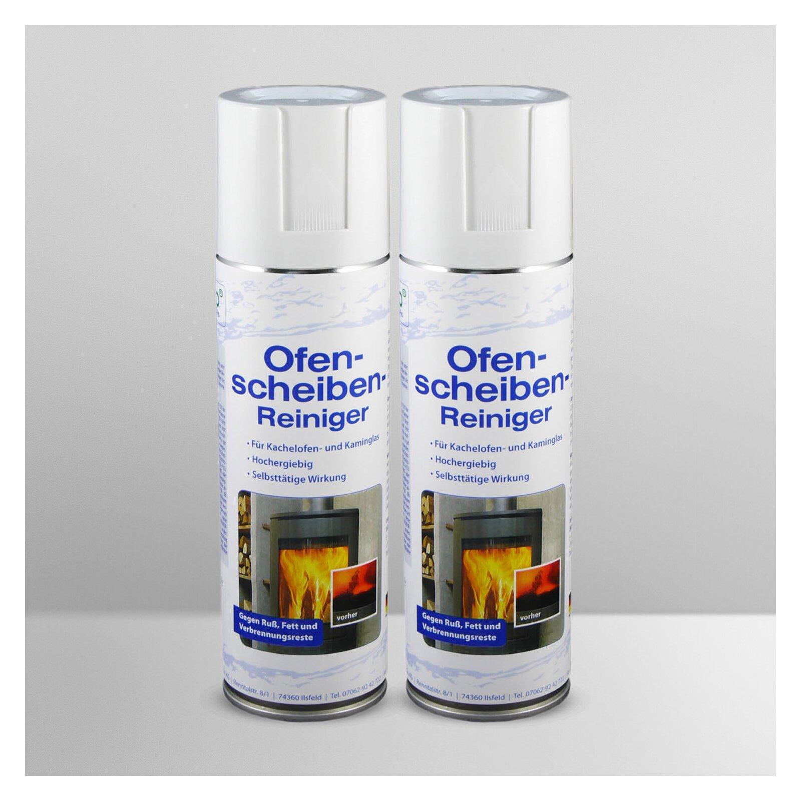 S-Pro Ofen- und Kamin-Scheibenreiniger 2 Dosen-Set