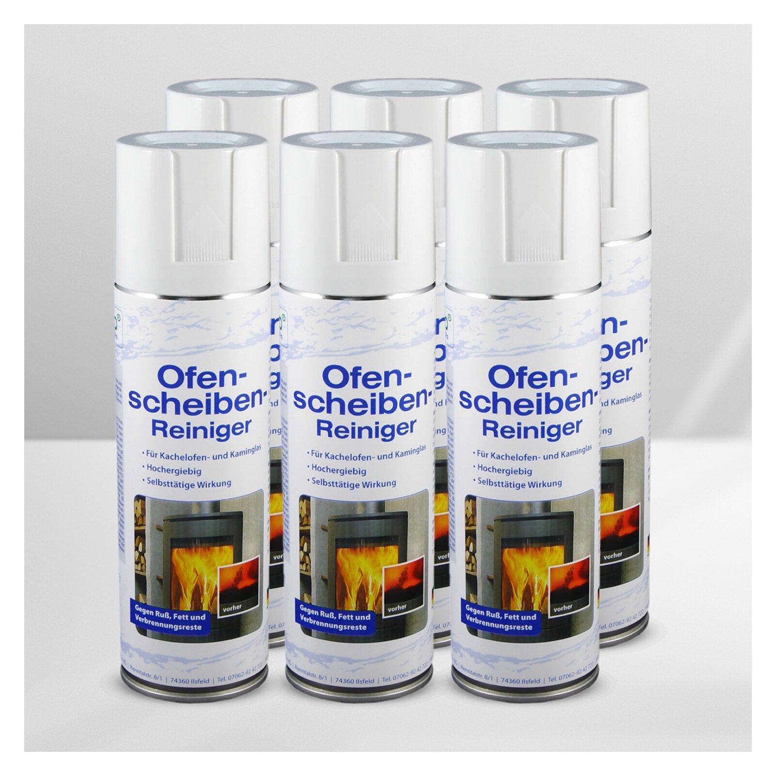S-Pro Ofen- und Kamin-Scheibenreiniger 6 Dosen-...