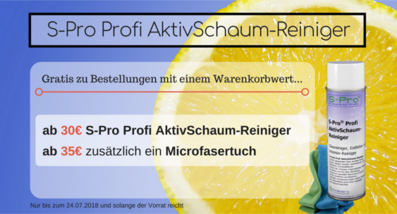 S-Pro Profi AktivSchaum-Reiniger